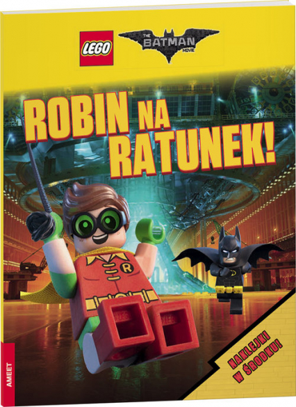 Lego Batman Movie Robin na ratunek
