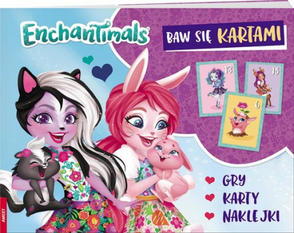 Enchantimals Baw się kartami