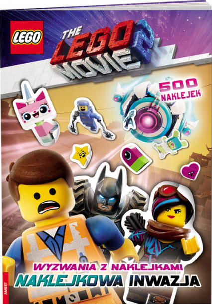 Lego Movie 2 Wyzwania z naklejkami SAC-6050